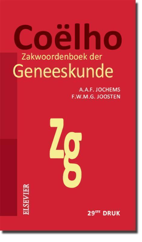 Coelho Zakwoordenboek van de Geneeskunde 29/E